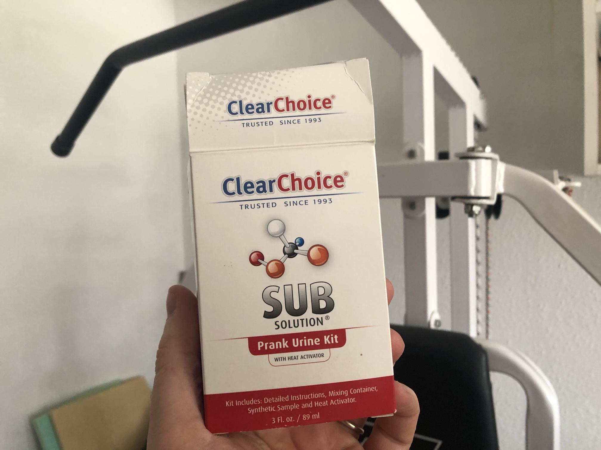 Clear Choice Urine