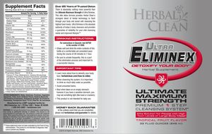 does Ultra eliminex work