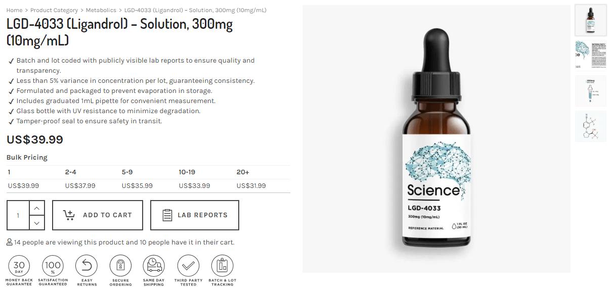 buy ligandrol online