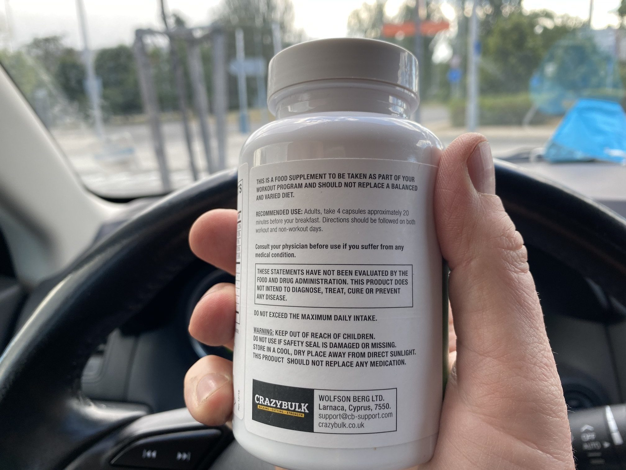 How to use Testo max